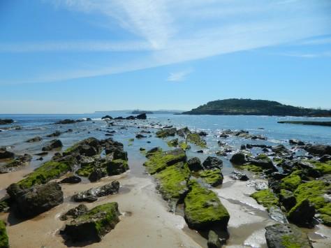 Flat na pláži v Santanderi