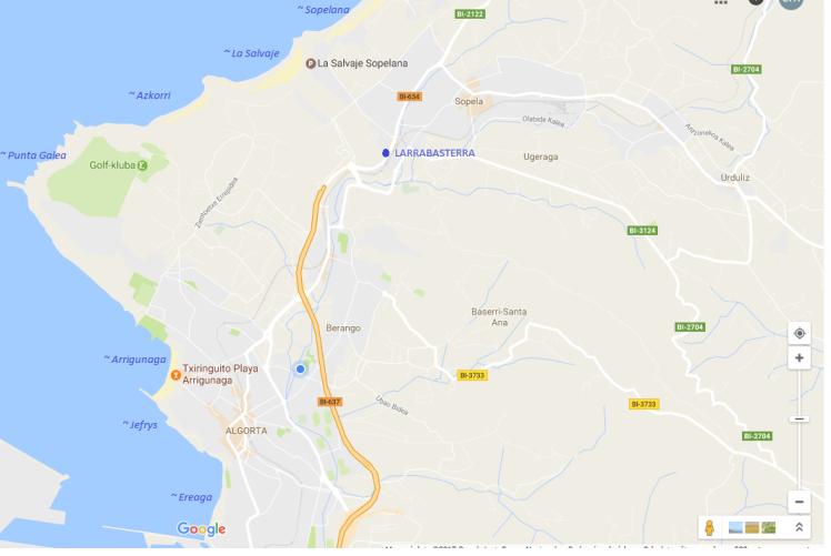 mapa spot